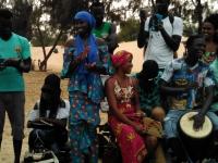 Percusión e danza mandingas en Senegal