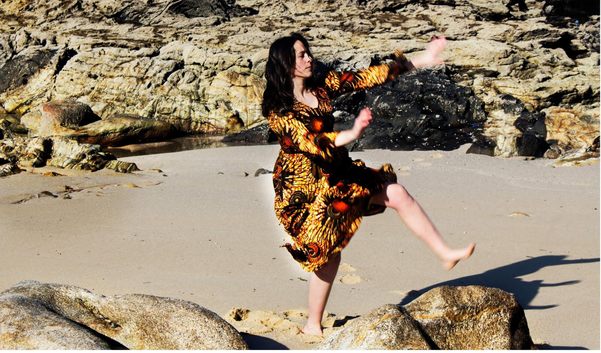 Sobre Tania Veiga, profesora de Danza Tradicional do Oeste de África