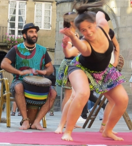 Mostra de Danza Tradicional Africana en Santiago de Compostela