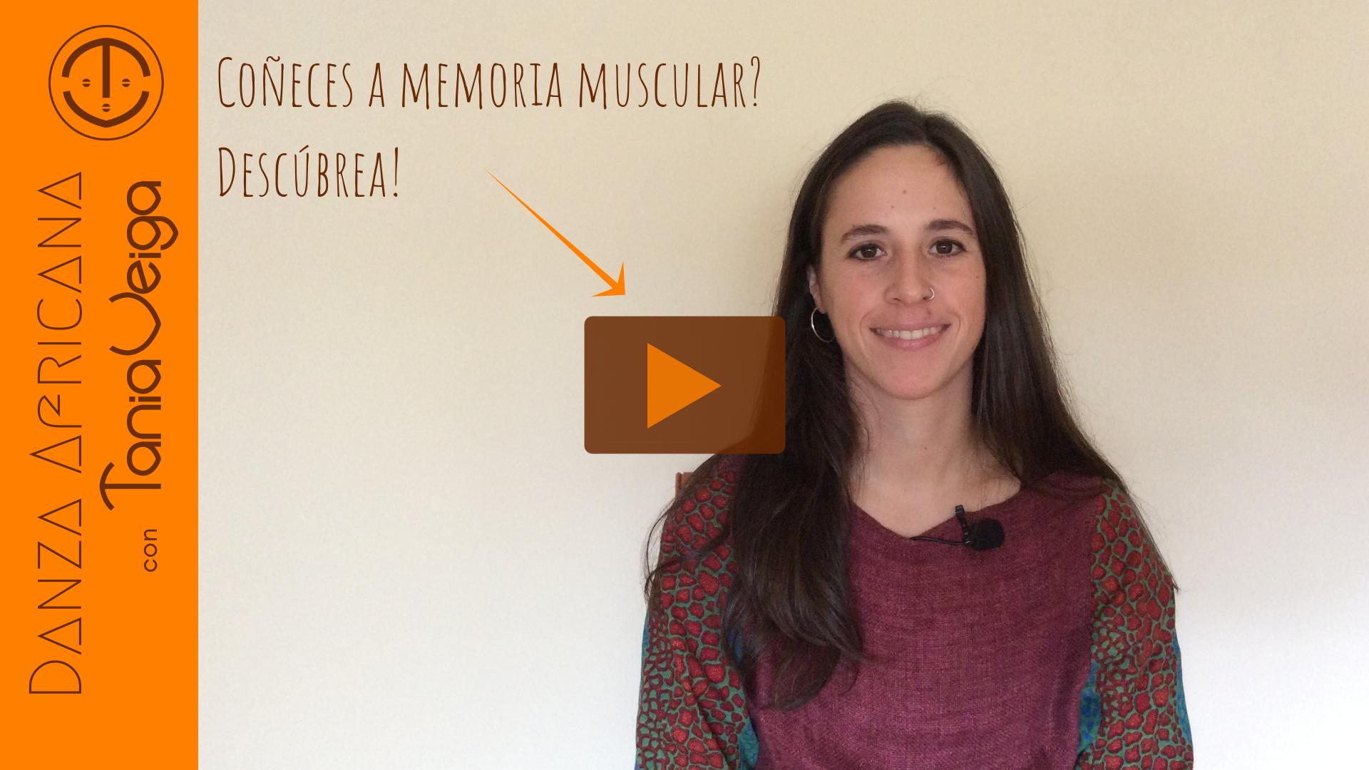 Memoria muscular con Tania Veiga profesora de Danza con base na Tradición do Oeste de África