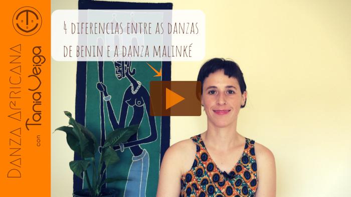 Catro diferencias entre a Danza Malinké e as danzas de Benin