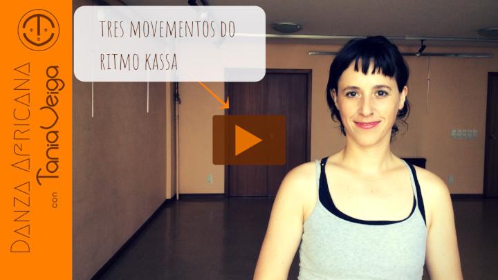 Danza Malinké Galicia Tres movementos do ritmo Kassa