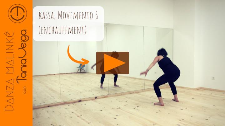 Movemento 6 para o ritmo Kassa
