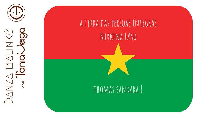 Burkina Faso, A Terra das Persoas Íntegras. Thomas Sankara