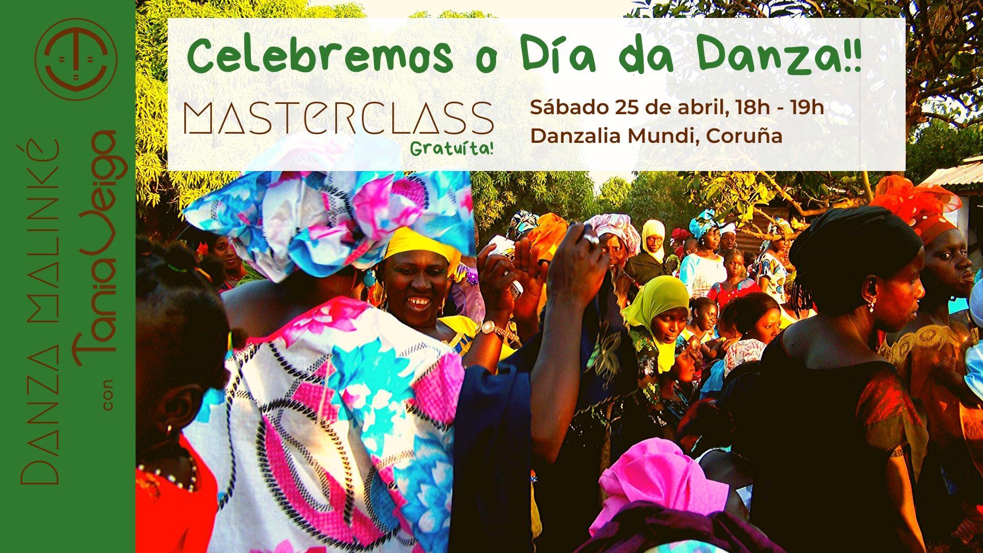 Masterclass gratuíta de Danza Malinké 25 abril