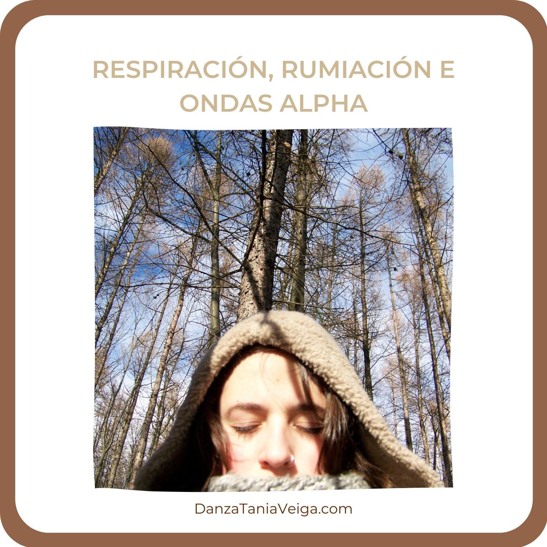 Respiración, rumiación e ondas alpha