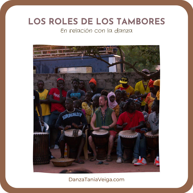 tambores y danza